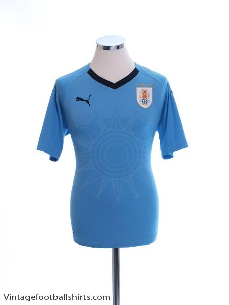 2018-19 Uruguay Home Shirt *Mint* S - 752576-01