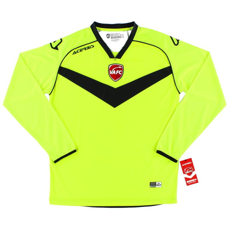 2018-19 Valenciennes Goalkeeper Shirt *BNIB* - 0910025.060.066