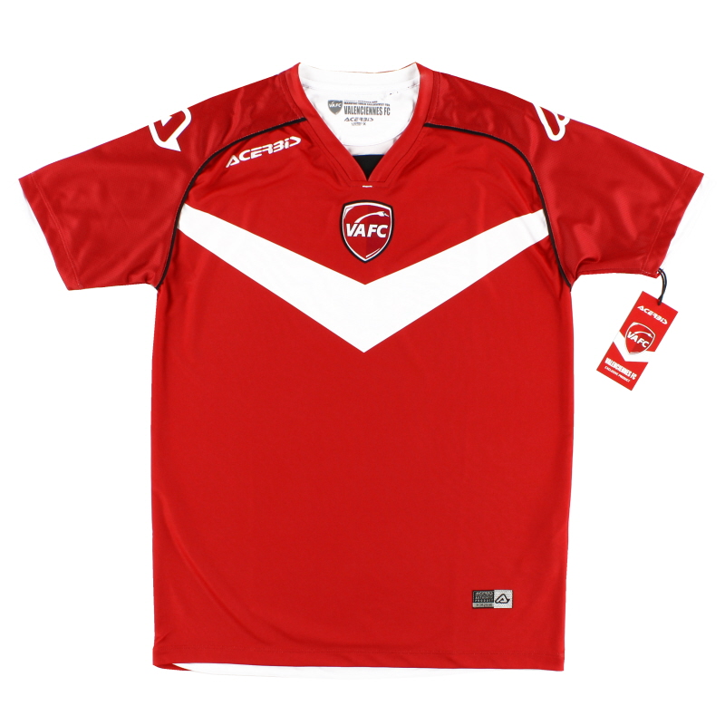 2018-19 Valenciennes Home Shirt *BNIB* - 0910023.110.064