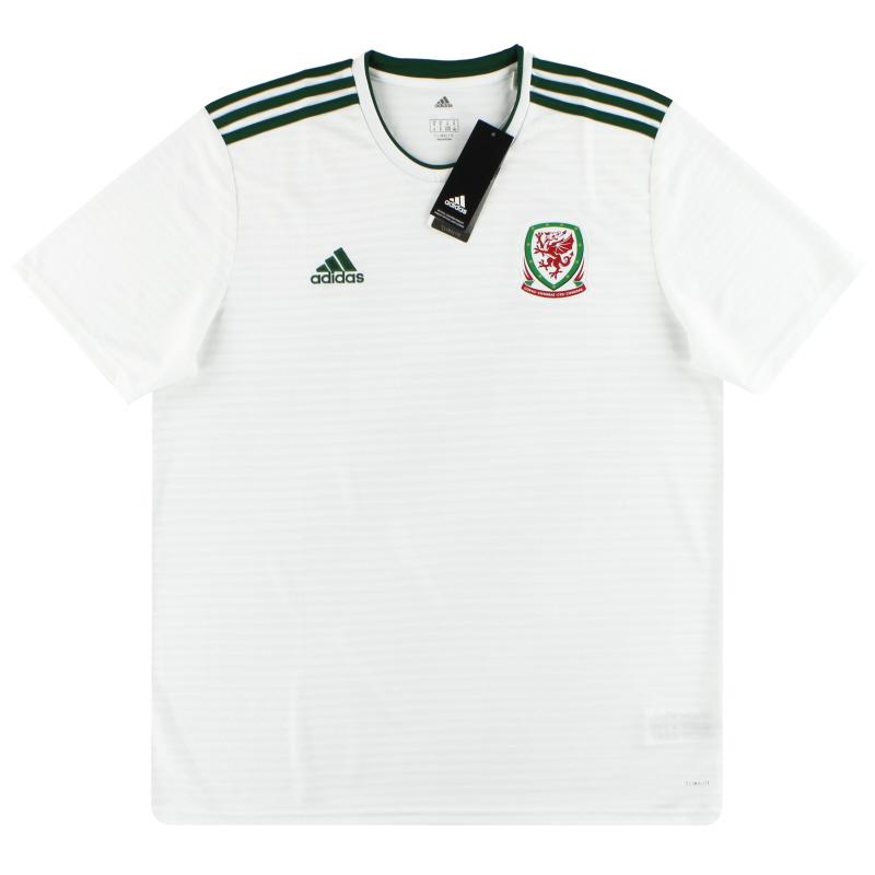 2018-19 Wales adidas Away Shirt *w/tags* S - BP9989
