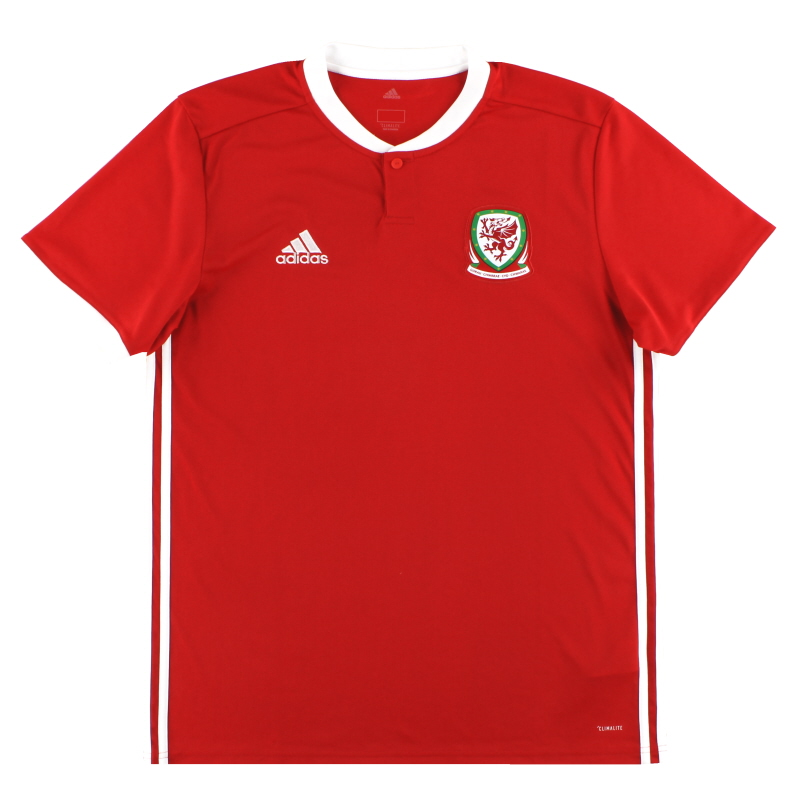2018-19 Wales adidas Home Shirt L - BP9982