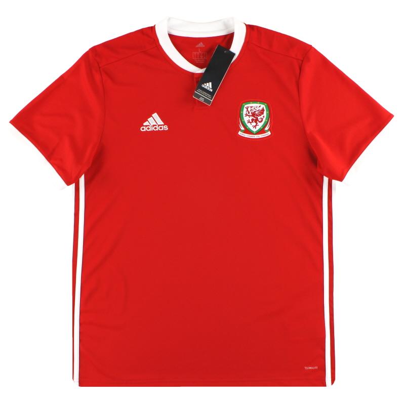 2018-19 Wales adidas Home Shirt *BNIB*  - BP9982