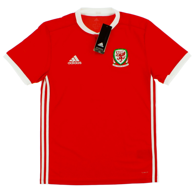 2018-19 Wales Home Shirt *BNIB*  - BP9982