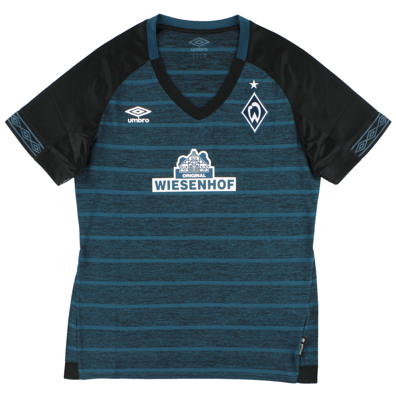 2018-19 Werder Bremen Away Shirt *As New* Women's 12