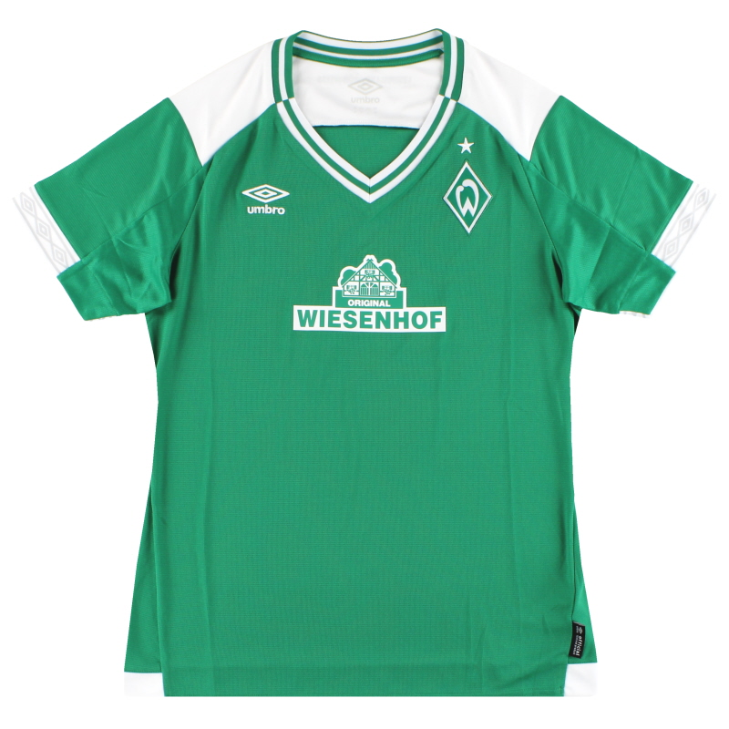 2018-19 Werder Bremen Umbro Home Shirt *As New* Women's 12 - 79151U