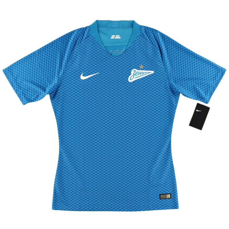 2018-19 Zenit St. Petersburg Vapor Player Issue Home Shirt *w/tags*  - 920338-447