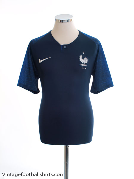 2018 France Home Shirt *Mint* M