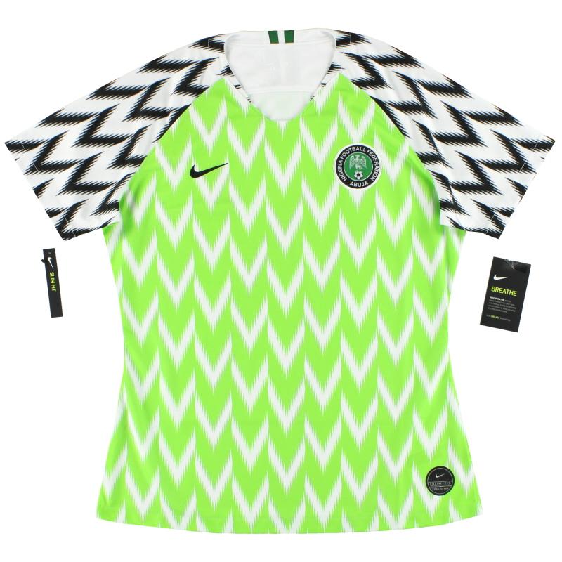 2019 Nigeria Nike Womens Home Shirt *BNIB* - 893957-100