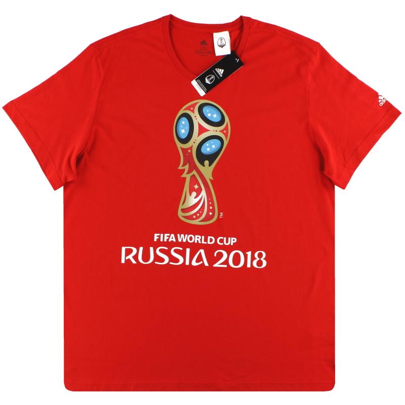 2018 World Cup adidas Emblem Tee *BNIB* XXL - CV6336