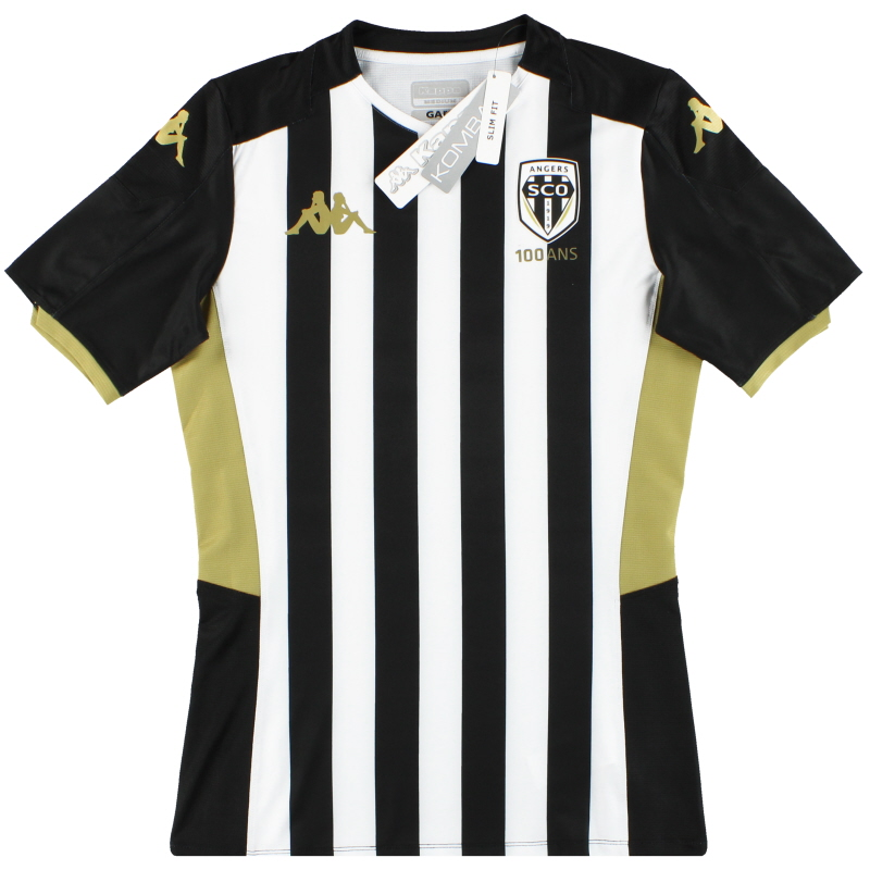2019-20 Angers Kappa Kombat Centenary Home Shirt *w/tags* M - 304UJ70