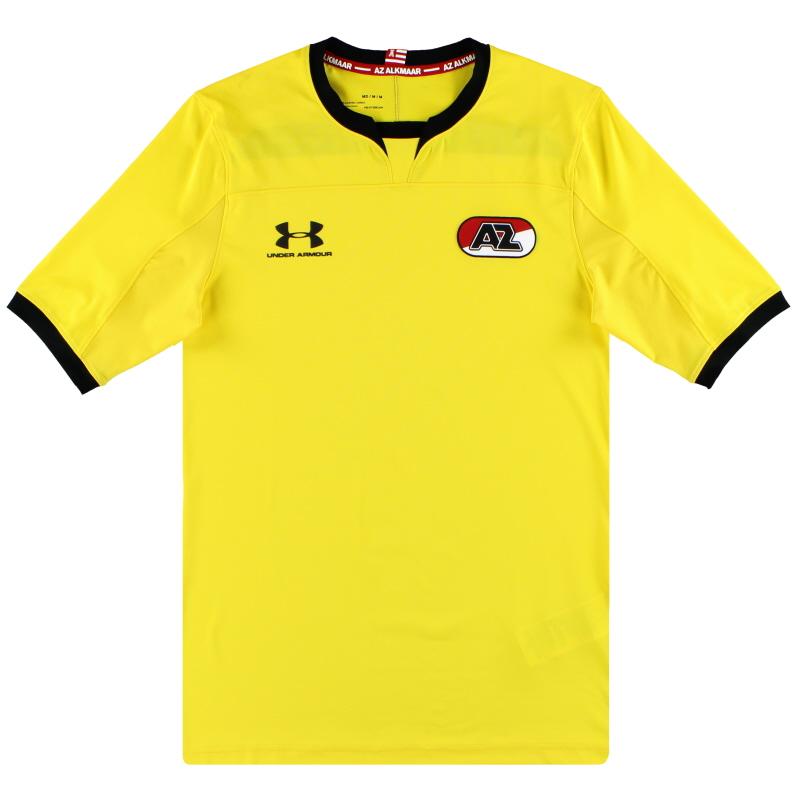 2019-20 AZ Alkmaar Under Armour Player Issue Goalkeeper Shirt *As New* M - 1332425
