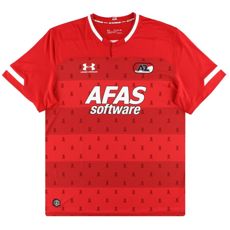 2019-20 AZ Alkmaar Under Armour Home Shirt *As New* - 1332309
