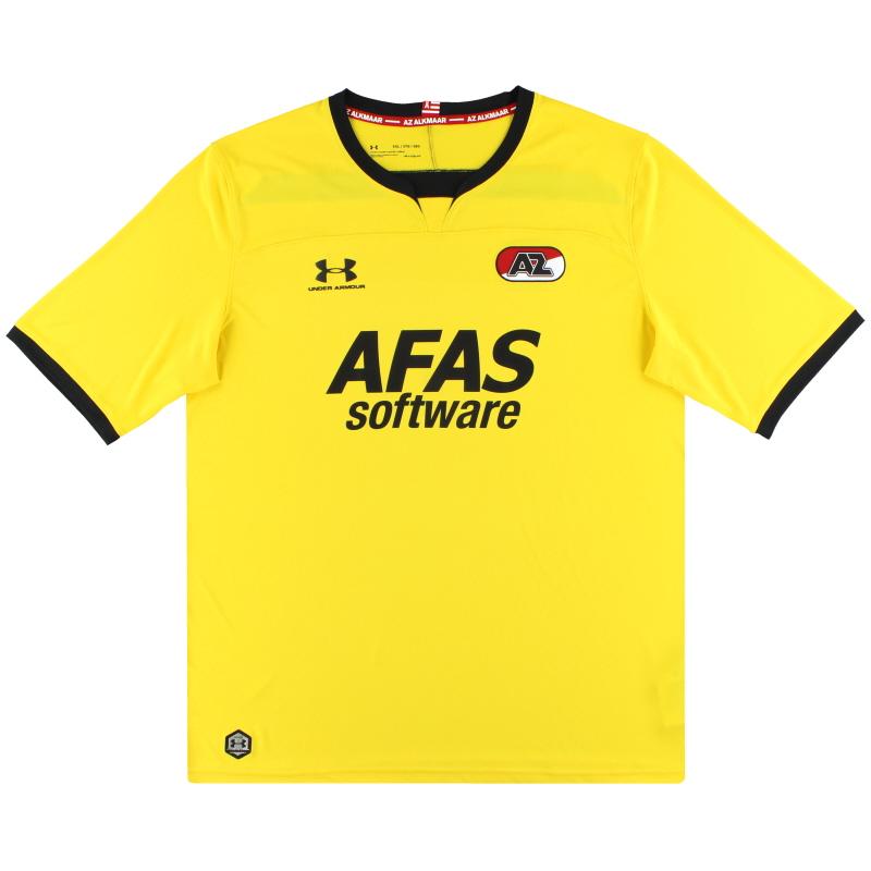 2019-20 AZ Alkmaar Under Armour Goalkeeper Shirt *As New* S - 1332311