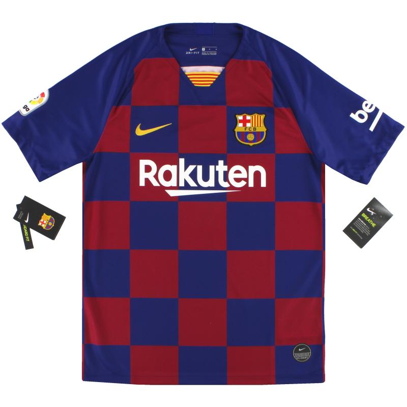 2019-20 Barcelona Nike Home Shirt *w/tags* S - AJ5532-456