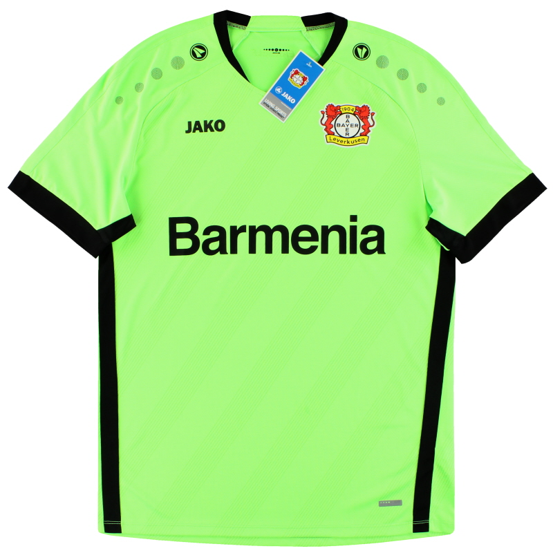 2019-20 Bayer Leverkusen Jako Goalkeeper Shirt *w/tags* 5XL - BA8919H