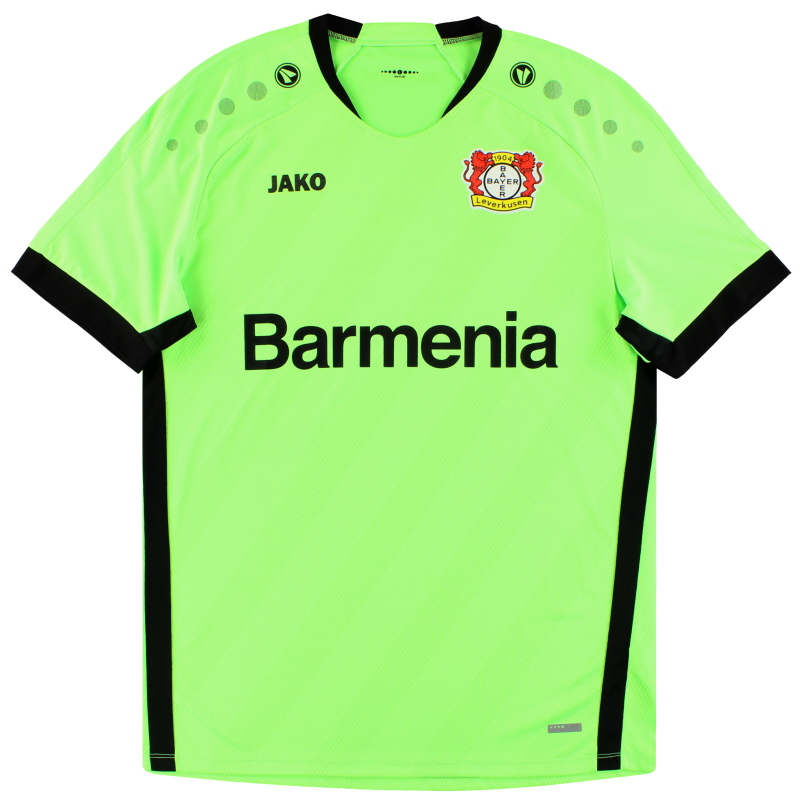 2019-20 Bayer Leverkusen Jako Goalkeeper Shirt *As New* L - BA8919H