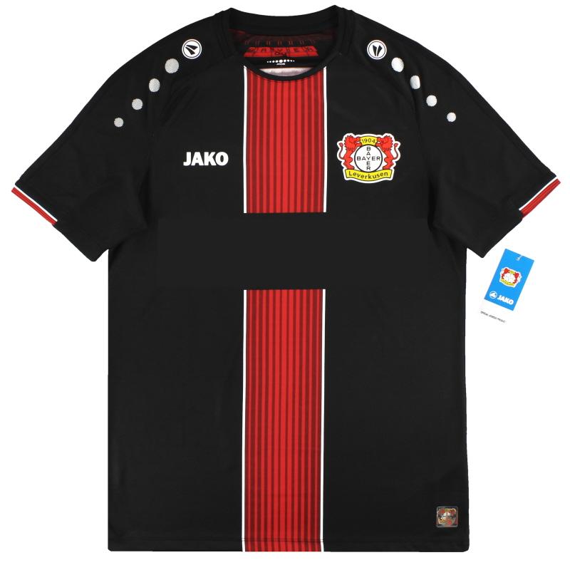 Maglia Home Bayer Leverkusen Jako 2019-20 * con etichette * L in ...