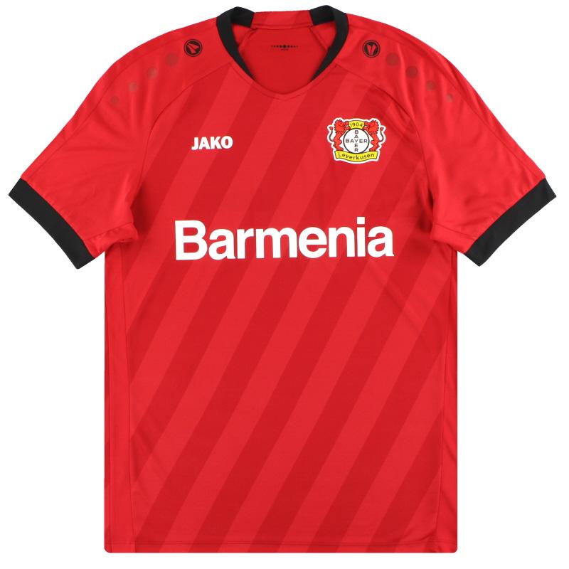 2019-20 Bayer Leverkusen Jako Home Shirt *As New* L - BA4213H