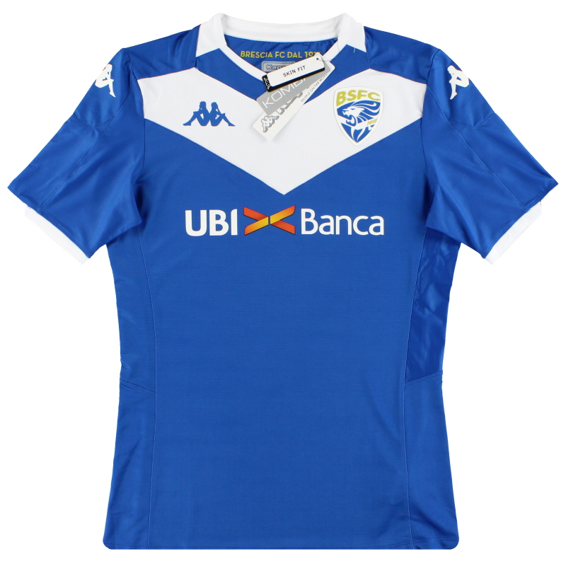 2019-20 Brescia Kappa Kombat Home Shirt *BNIB* - 304UX50
