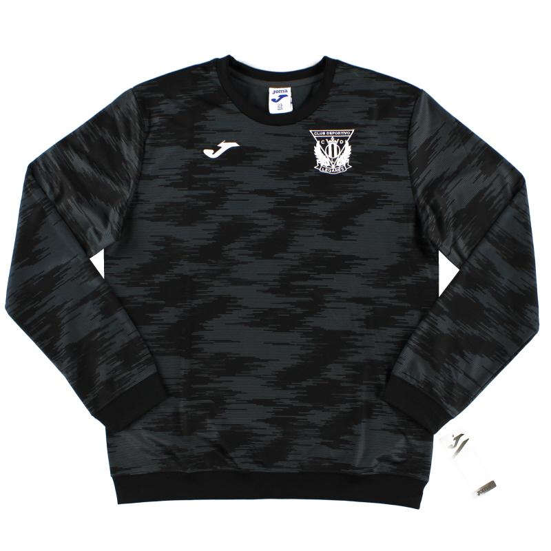 2019-20 C.D. Leganes Joma Black Pre-Match Top *BNIB* - LG.101329151