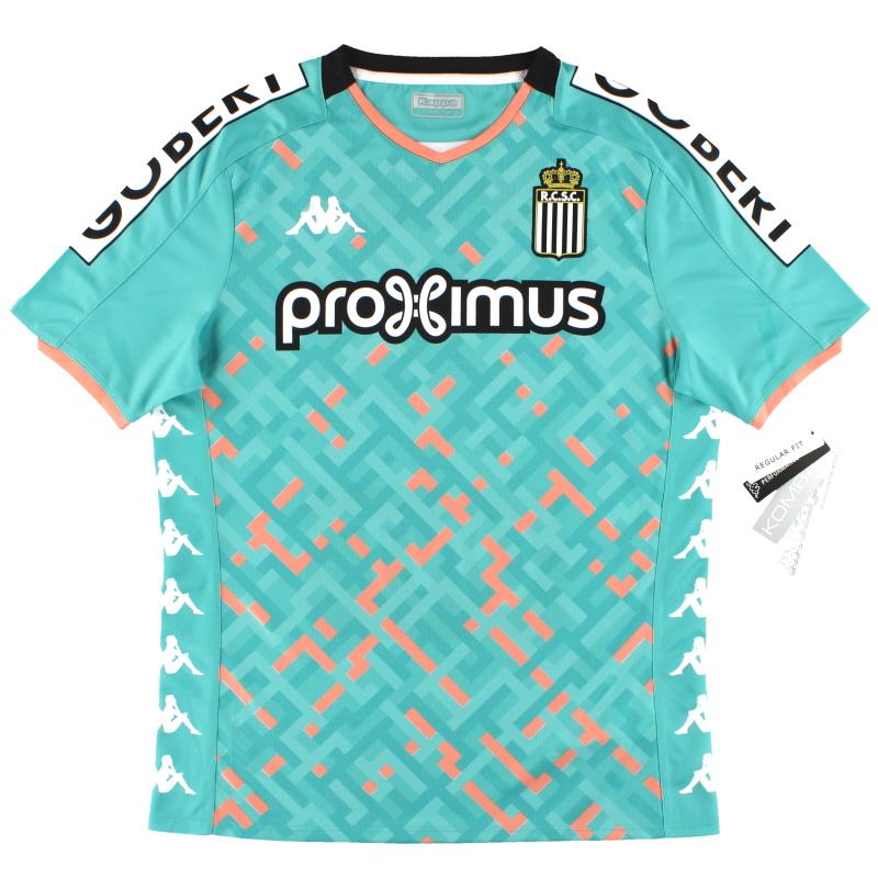 2019-20 Charleroi Kappa Away Shirt w/tags - 304RDA0