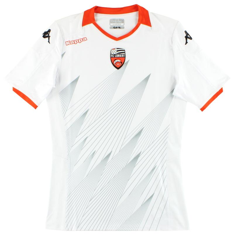 2019-20 FC Lorient Kappa Kombat Pro Away Shirt *As New* L