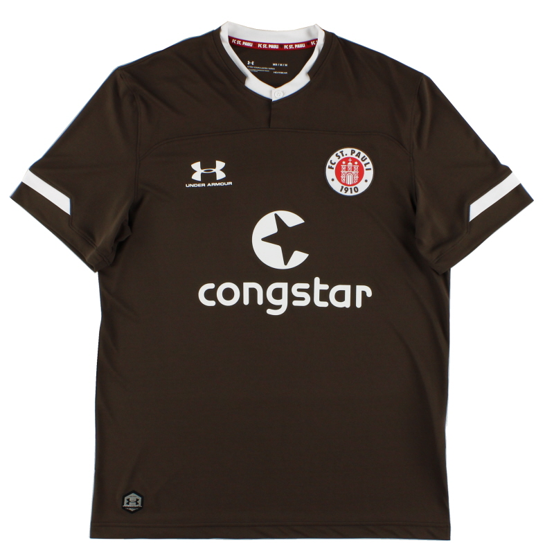 2019-20 FC St. Pauli Home Shirt *As New*  - 1332346