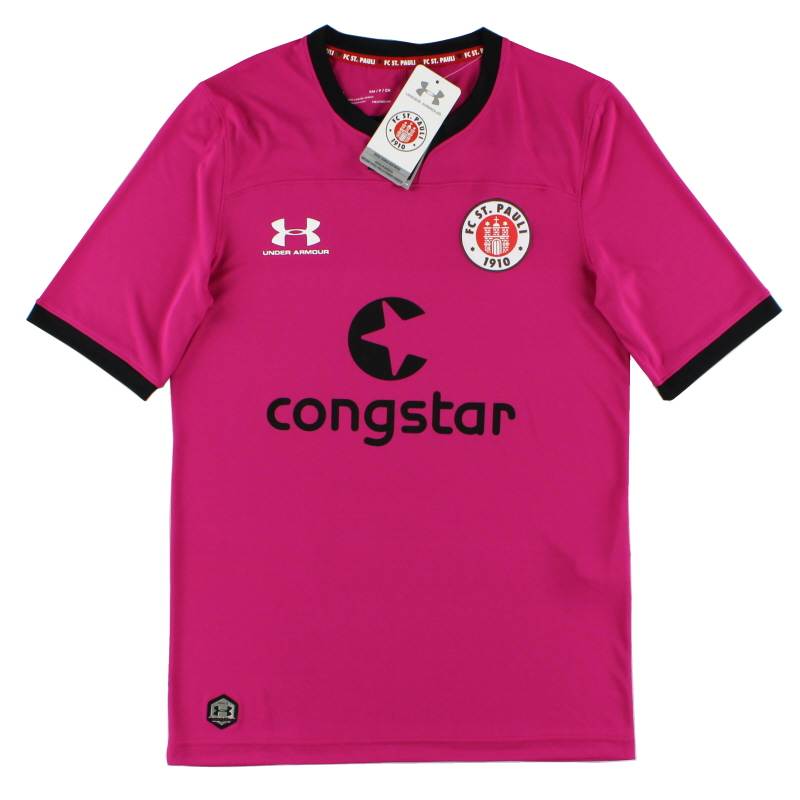2019-20 FC St. Pauli Pink Goalkeeper Shirt *w/tags* S - 1332349-660