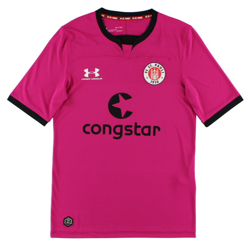 2019-20 FC St. Pauli Pink Goalkeeper Shirt *As New* XXL - 1332349-660
