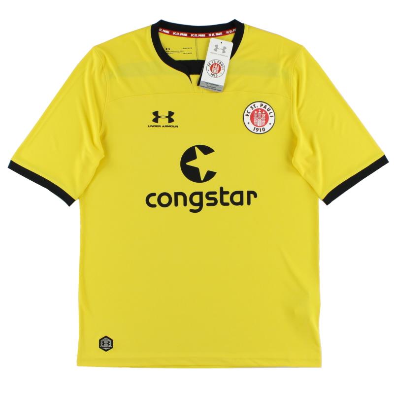 2019-20 FC St. Pauli Yellow Goalkeeper Shirt *w/tags* L - 1332349-793
