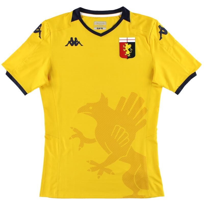 2019-20 Genoa Kappa Authentic Goalkeeper Shirt *As New* XL - 304TPD0