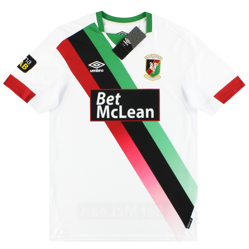 2019-20 Glentoran Umbro Away Shirt *w/tags* S - UMTM0363