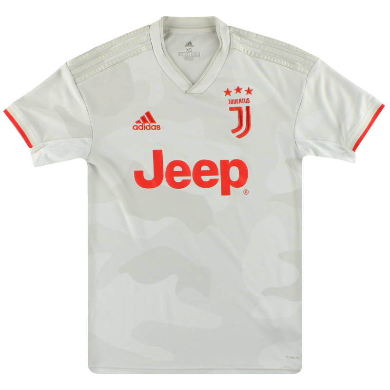 2019-20 Juventus adidas Away Shirt XS - DW5461