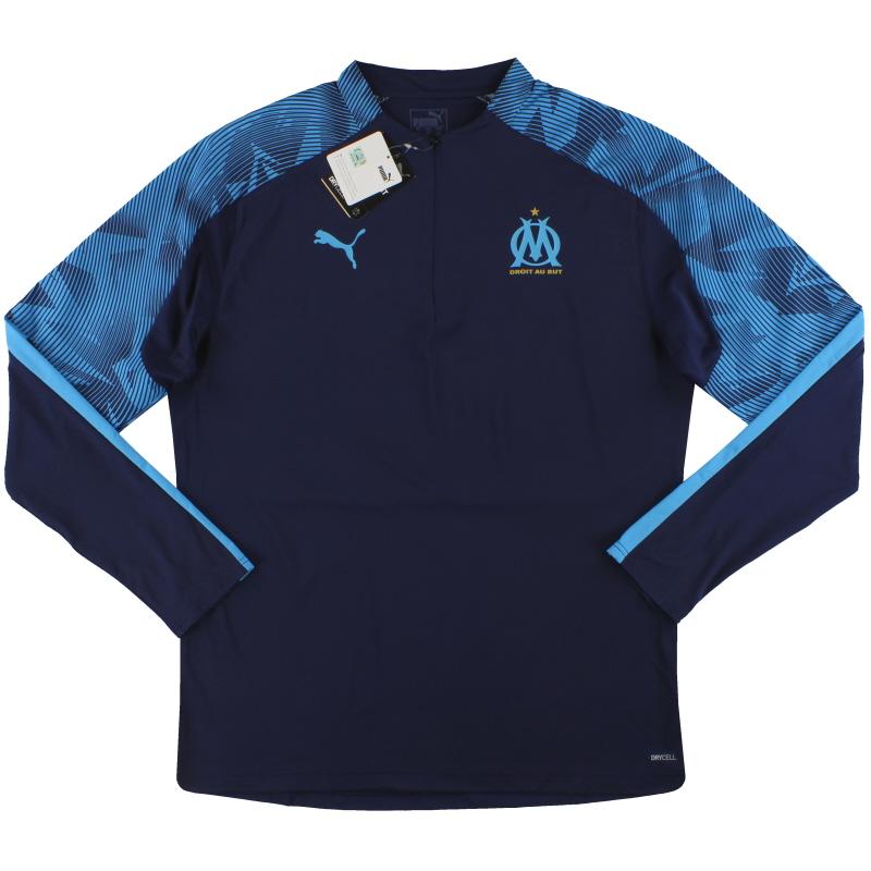 2019-20 Olympique Marseille Puma Training Top *BNIB* - 755831 04