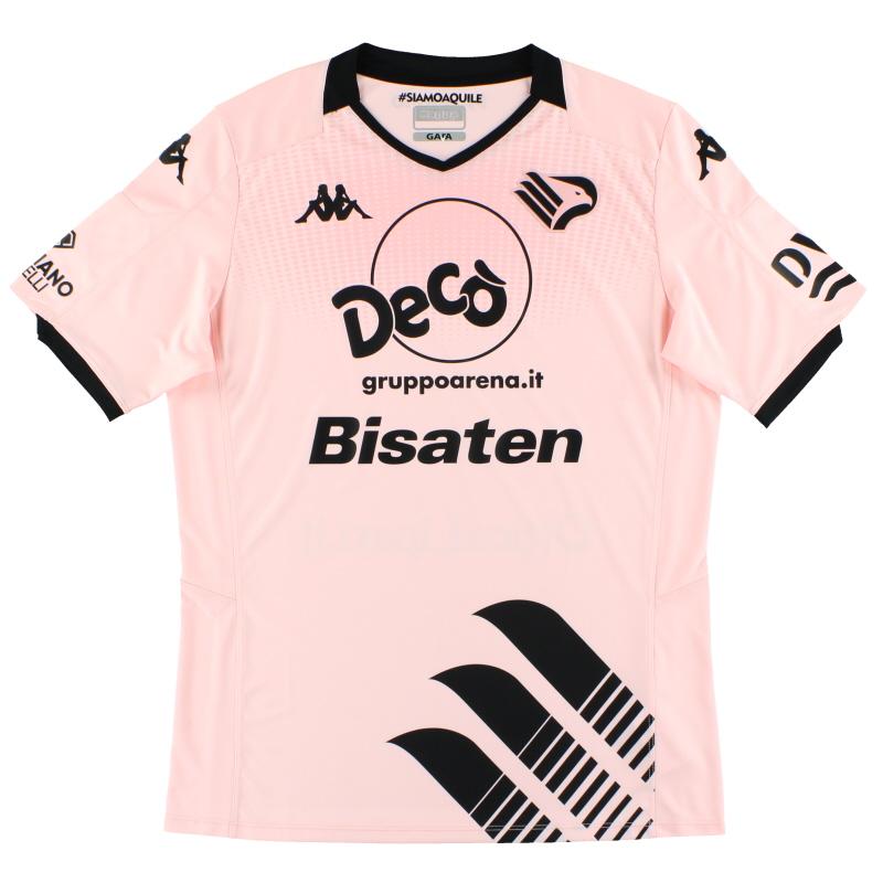 2019-20 Palermo Kappa Home Shirt *As New* M - 3117SCW
