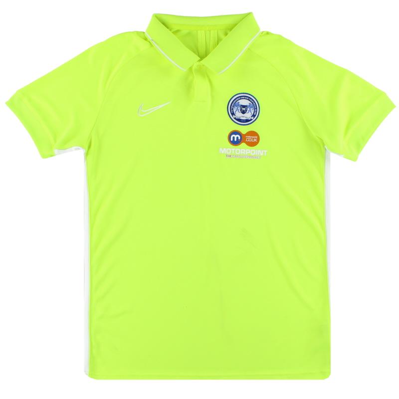 2019-20 Peterborough Nike Polo Shirt L - BQ1496-702