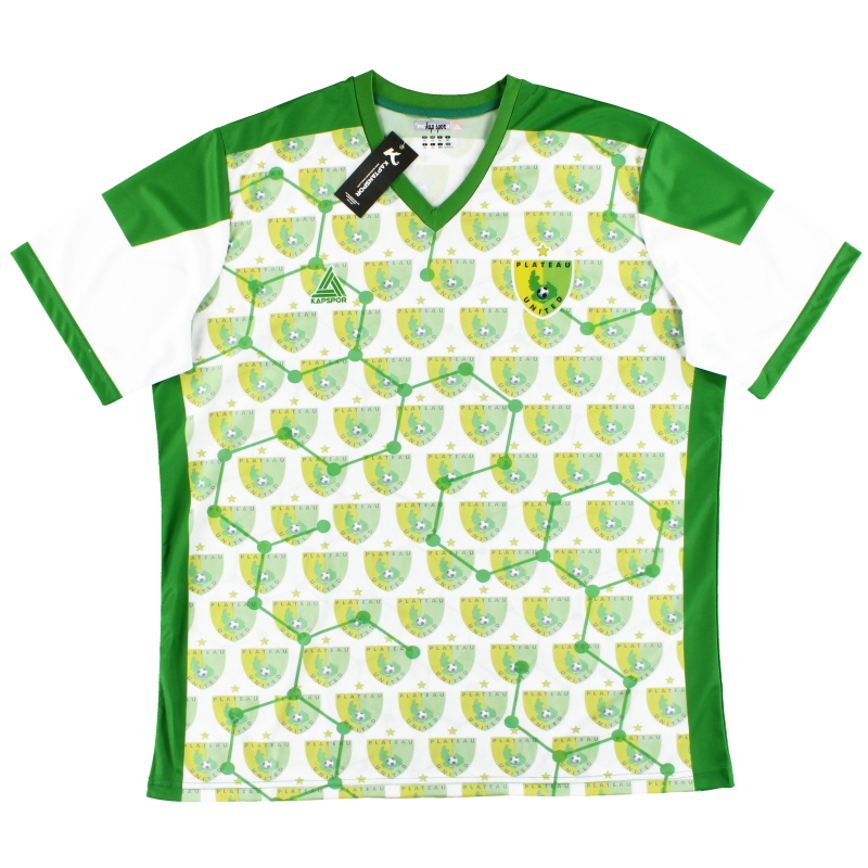 2019-20 Plateau United Kapspor Third Shirt *BNIB* 3XL