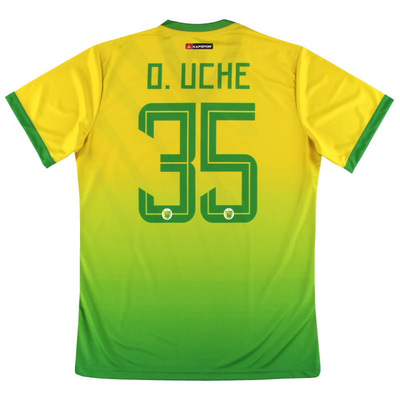 2019-20 Plateau United Kapspor Player Issue Home Shirt O.Uche #35 *w/tags* L