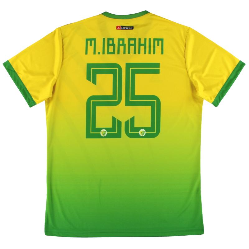 2019-20 Plateau United Kapspor Player Issue Home Shirt M.Ibrahim #25 *w/tags* L