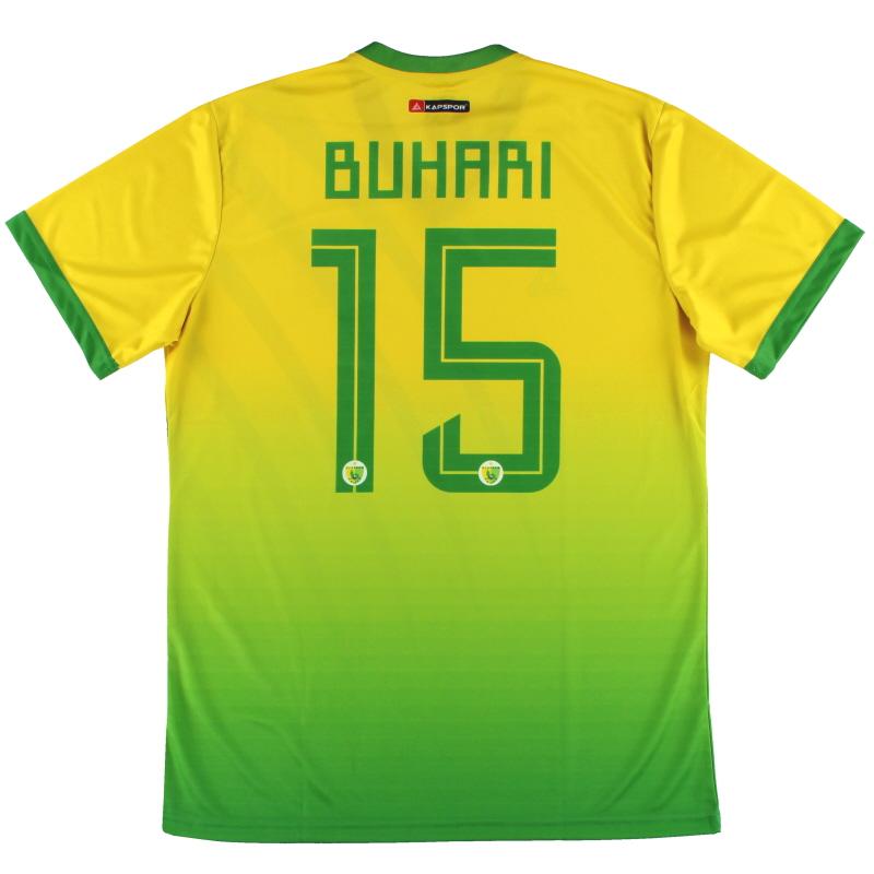 2019-20 Plateau United Kapspor Player Issue Home Shirt Buhari #15 *w/tags* L