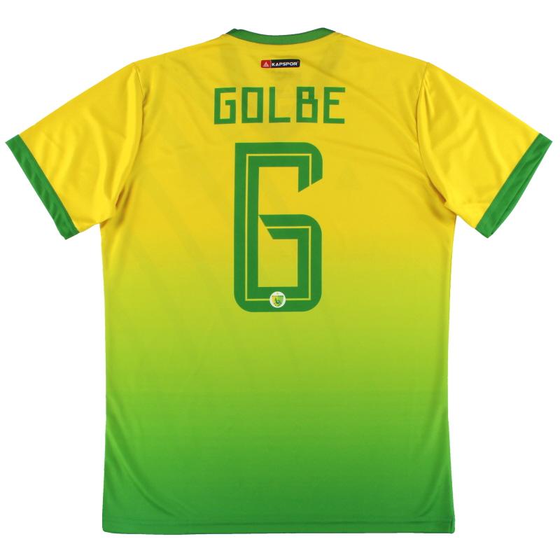 2019-20 Plateau United Kapspor Player Issue Home Shirt Golbe #6 *w/tags* L
