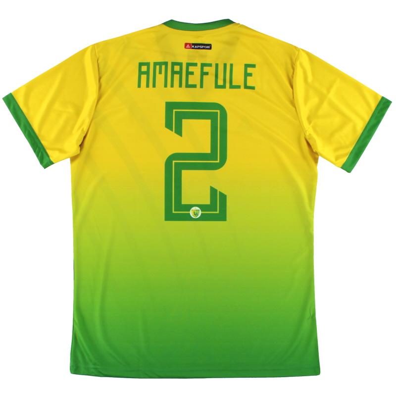 2019-20 Plateau United Kapspor Player Issue Home Shirt Amaefule #2 *w/tags* L