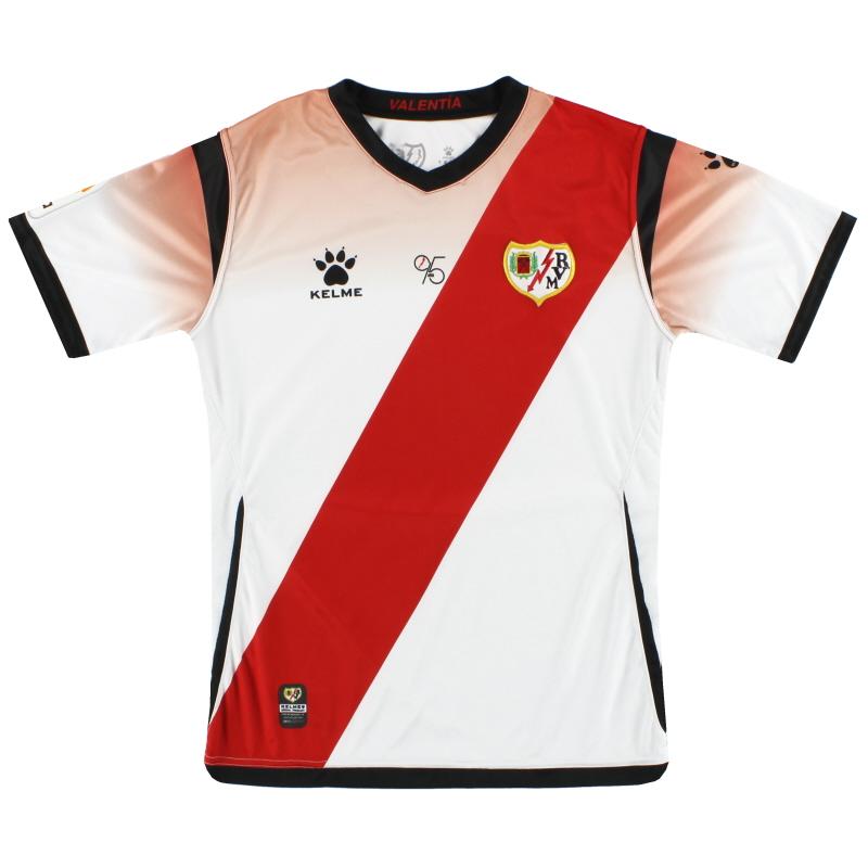 2019-20 Rayo Vallecano Kelme Home Shirt S