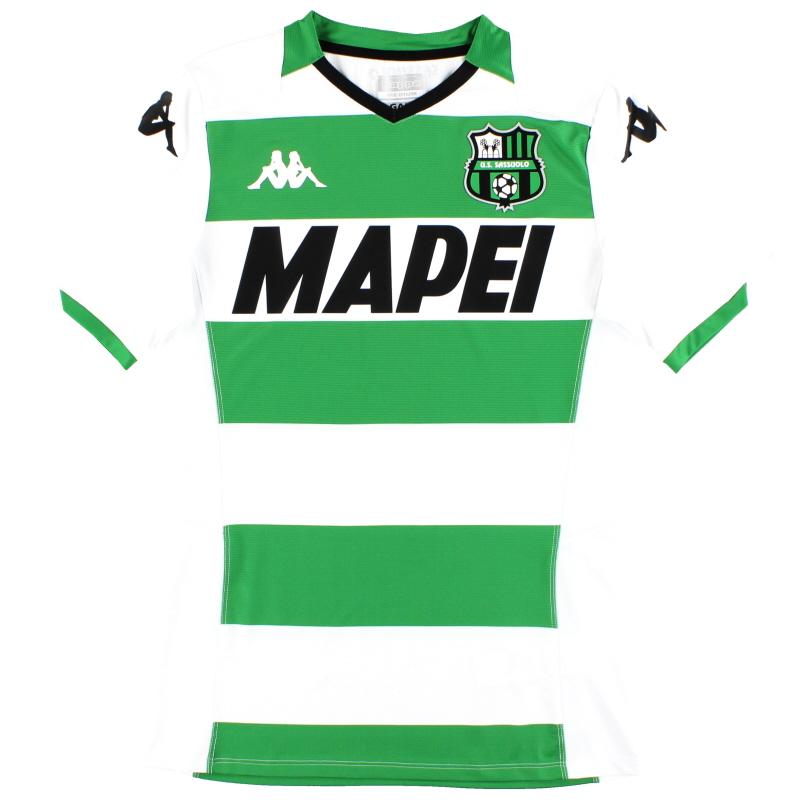 2019-20 Sassuolo Kappa Kombat Pro Away Shirt *As New* - 4215384