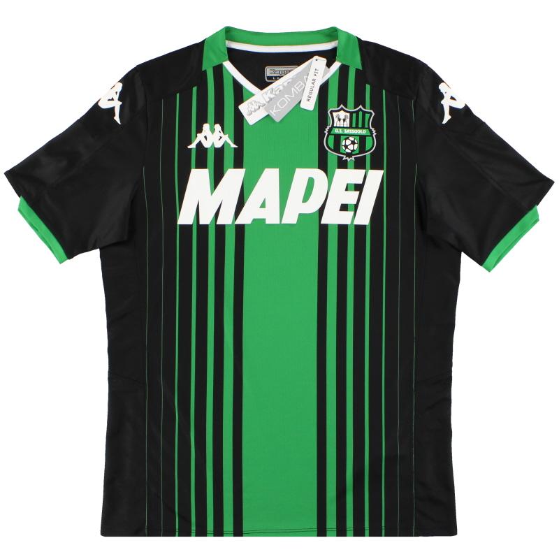 2019-20 Sassuolo Kappa Home Shirt *w/tags* L - 4215384
