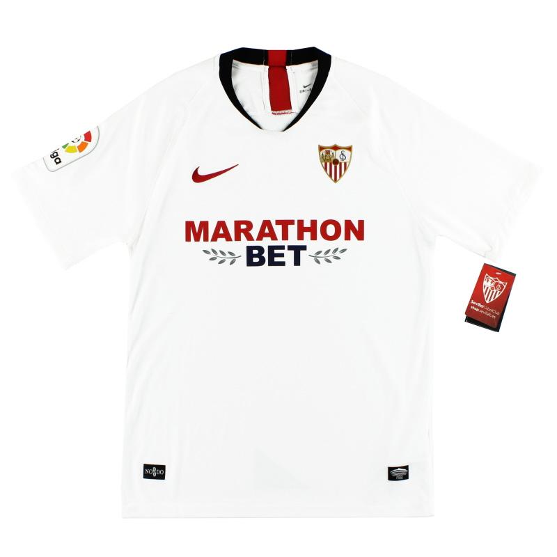 2019-20 Sevilla Nike Home Shirt *BNIB* - AJ1018-104