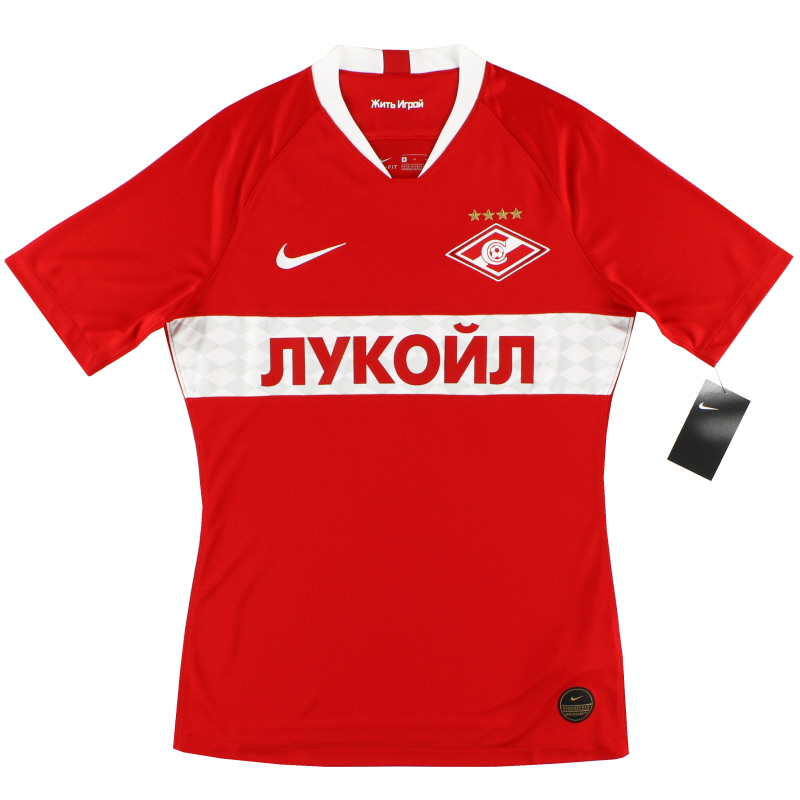 2019-20 Spartak Moscow Vapor Player Issue Home Shirt *w/tags* - AO5279-658