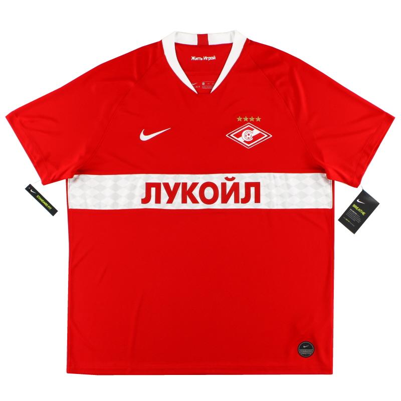 2019-20 Spartak Moscow Home Shirt *w/tags* XXL - AO5279-658