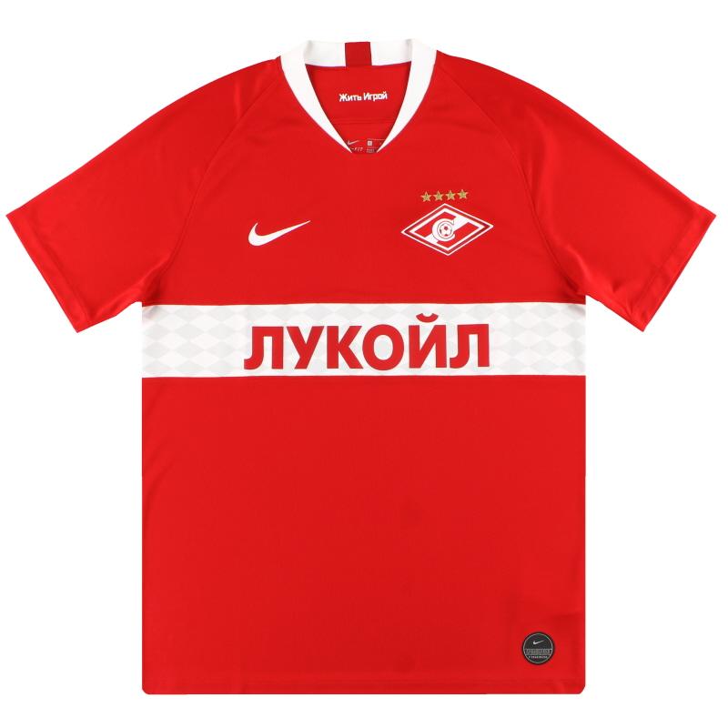 2019-20 Spartak Moscow Nike Home Shirt *As New* - AJ5567-658