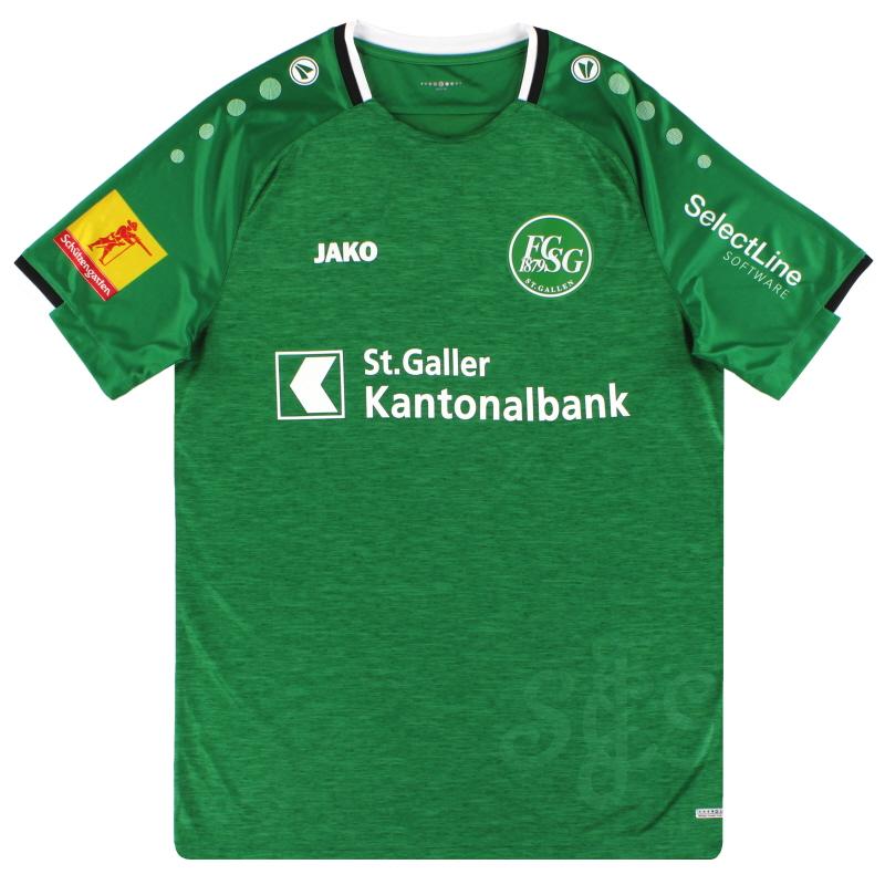 2019-20 St Gallen Jako Home Shirt *As New* - SG4219H